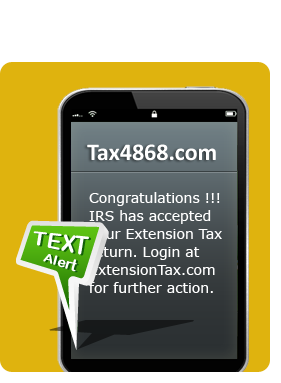 Form 4868 - Automatic Extension of Time To File U S  Individual